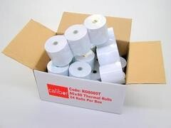 Thermal Paper 80mm x 75mm (Box of 24Rolls)